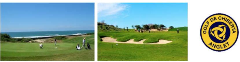 golf de chiberta à Anglet au Pays basque